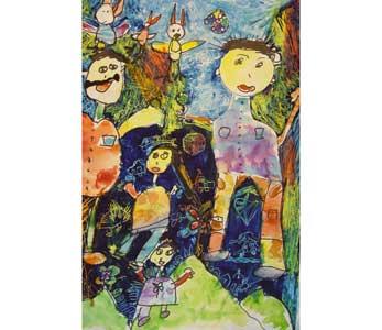 باز هم جایزه برای نقاشی کودکان ایرانی