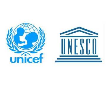 """پیشگامی یونیسف و یونسکو در پی گیری هدف """"آموزش برای همه"""" پس از سال ۲۰۱۵"""