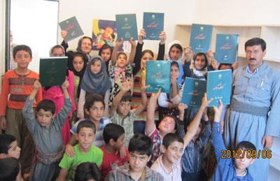 گزارش ترویج فرهنگنامه و تاسیس کتابخانه در شهرها و روستاهای ایران