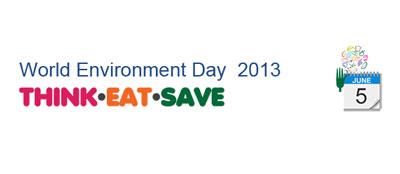 """پیام روز جهانی محیط زیست: """"بیندیش، بخور، صرفه جویی کن"""""""