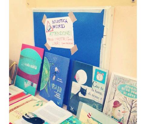 کتابخانه ای برای کودکان مهاجر