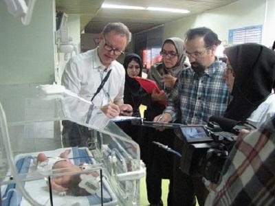 نخستین کارگاه بینالمللی- ملی آموزش مراقبتهای تکاملی اختصاصی برای نوزادان پر خط