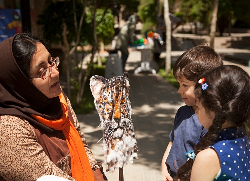 کودکان و نوجوانان زمین پاک را در موزه فرهنگ کودکی جشن گرفتند!