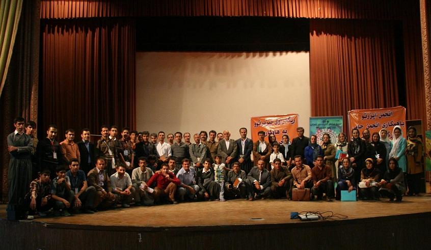 سومین جشنواره کتابخانه های روستایی غرب کشور در بوکان برگزار شد