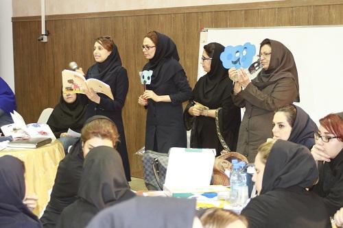 مربیان مهدکودک های شیراز با آموزش خلاق کودک محور آشنا شدند