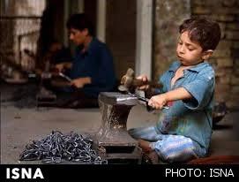 آماری از کودکان کار کارگاه های زیر زمینی در دست نیست
