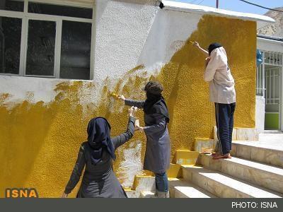 تحصیل زیر زخمهای زلزله