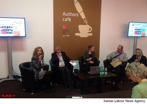 حضور رییس نمایشگاه کتاب بلونیا در تهران