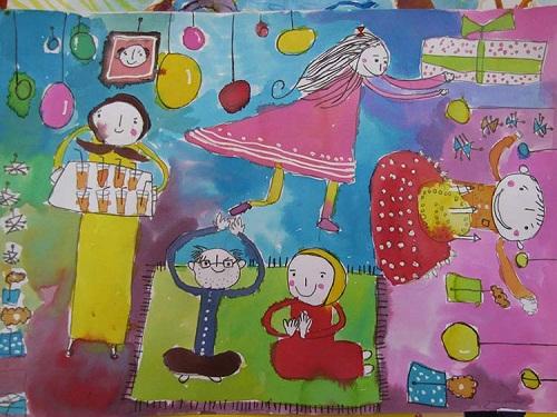 درخشش سه کودک و نوجوان ایرانی در مسابقه نقاشی بنیاد صلح و همکاری اسپانیا