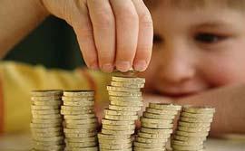 کودکان انگلیسی در مدرسه شیوه استفاده از پول را می آموزند!