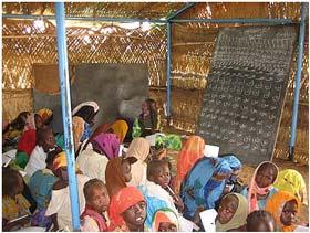 """برگزاری """"مسابقه ملی مدرسه ها"""" در """"دارفور"""""""