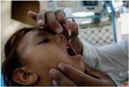 طرح بزرگ ایمن سازی کودکان آفریقا در برابر فلج اطفال