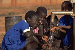آب، مهربانی زمین برای کودکان