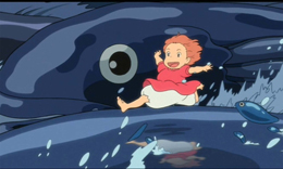 پونیو، پری دریایی ژاپنی، هشدارهای زیست محیطی می دهد!