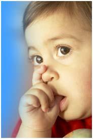 مکیدن انگشت و اختلال در گفتار