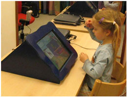 استفاده از رایانه برای آموزش زبان اشاره به کودکان ناشنوا