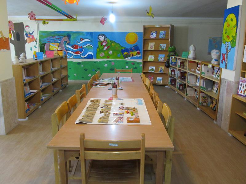 کتابخانه کودک سیدجواد افصح هجری رفسنجان
