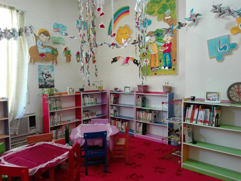 بخش کودک کتابخانه عمومی امام حسن مجتبی(ع) کازرون
