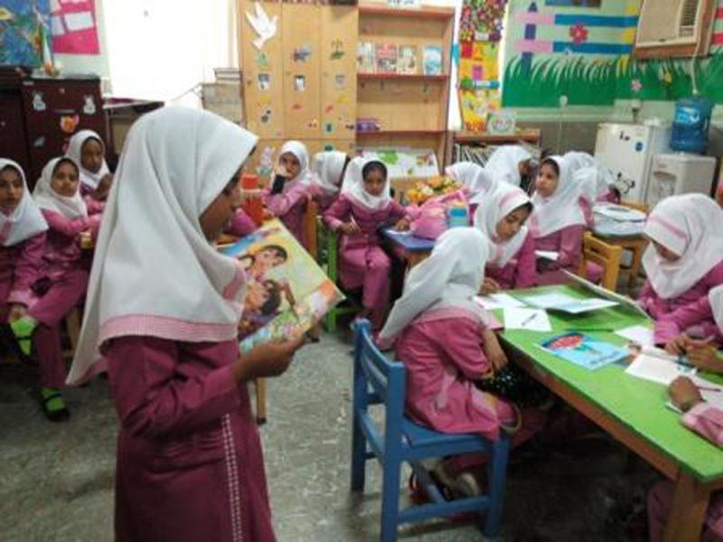 بخش کودک کتابخانه فردوسی بندرعباس