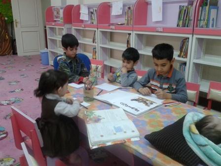 بخش کودک کتابخانه مرکزی ارومیه