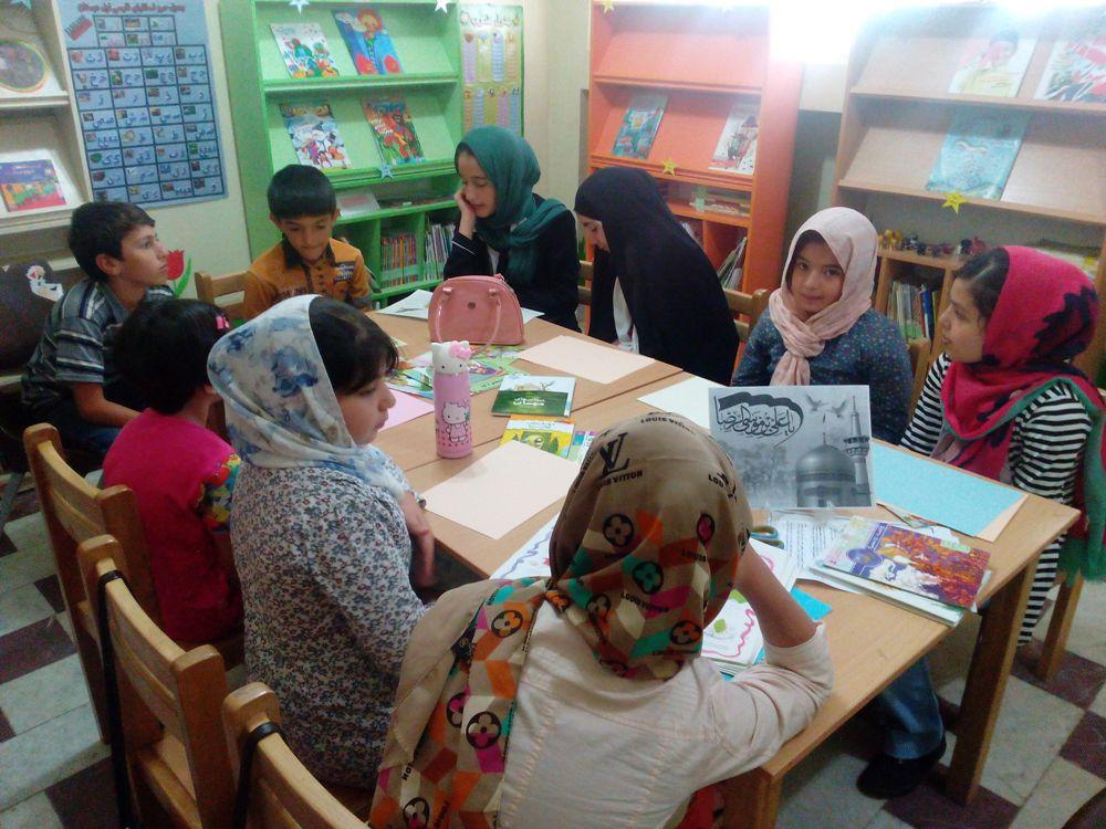 بخش کودک کتابخانه عمومی شیخ شهاب الدین اهری