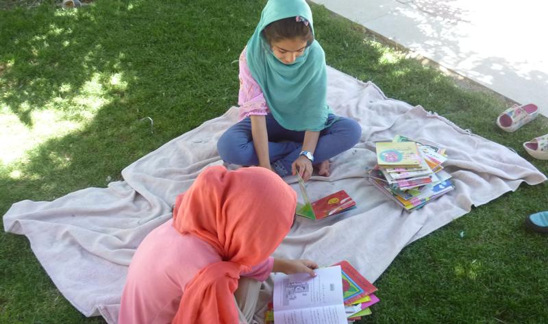بخش کودک کتابخانه شوریده شیرازی