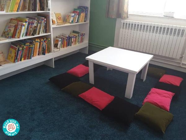 کتابخانه کودکمحور روزبهان، پذیرای کودکان ترکمنصحرا