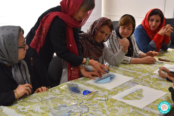 برگزاری کارگاه برای آموزشگران