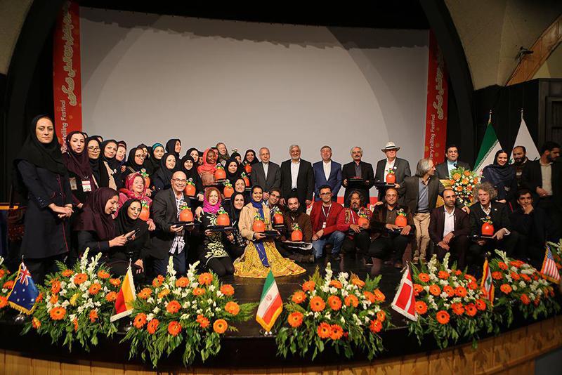 برگزیدگان هجدهمین جشنواره بینالمللی قصهگویی تجلیل شدند