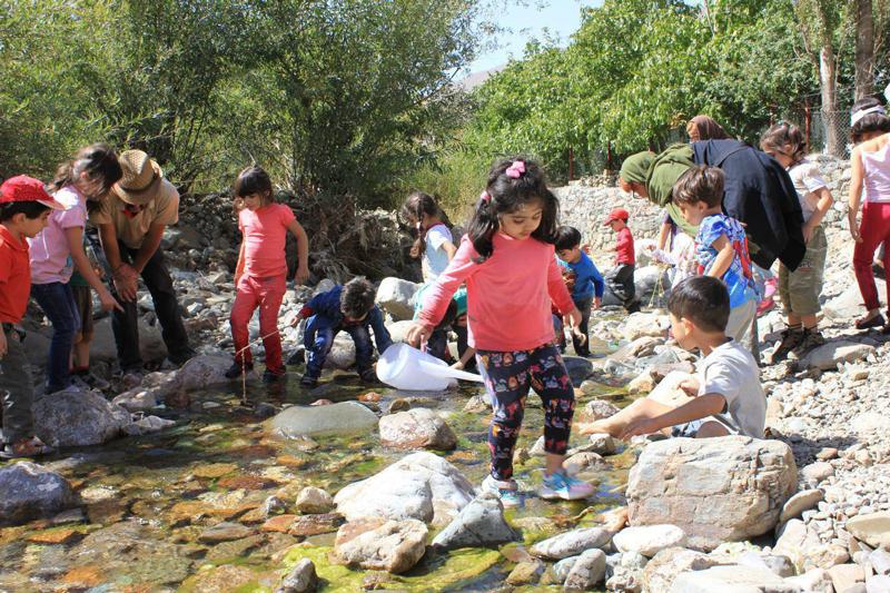 مدرسه طبیعت «داربانان آتی» میان طبیعتی در نزدیکی تهران
