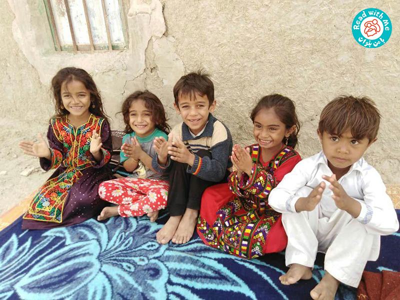 گزارشی از برنامهی «با من بخوان» در مناطق سیلزده استان سیستان و بلوچستان