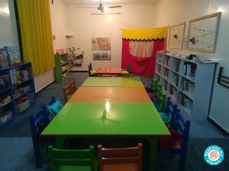 آغاز به کار کتابخانه کودکمحور گوریه در منطقهی شعیبیه خوزستان