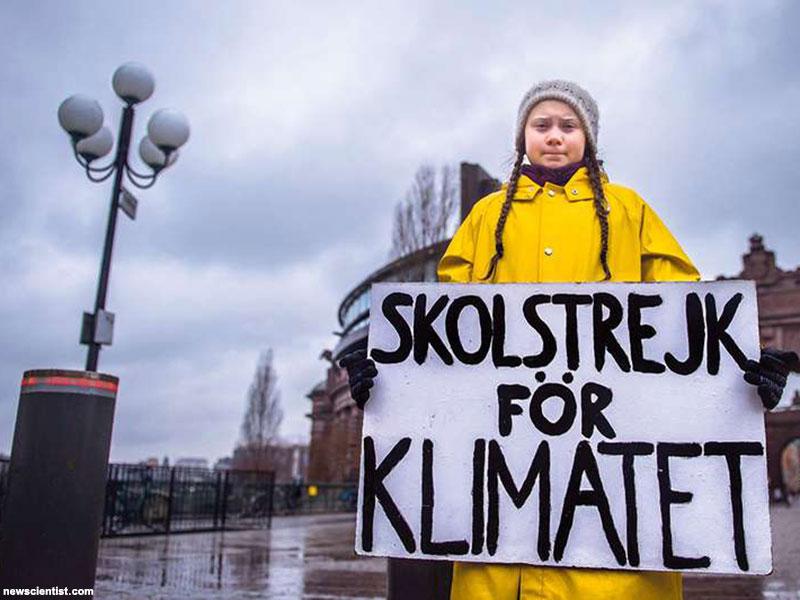 واکنش دانش آموز ۱۶ ساله سوئدی به شکست سیاستمداران جهان در حفاظت از محیط زیست