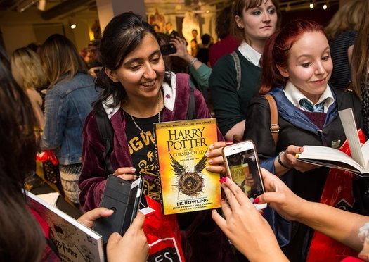 انتشار هشتمین کتاب «هری پاتر» روز تولد «جی کی رولینگ»
