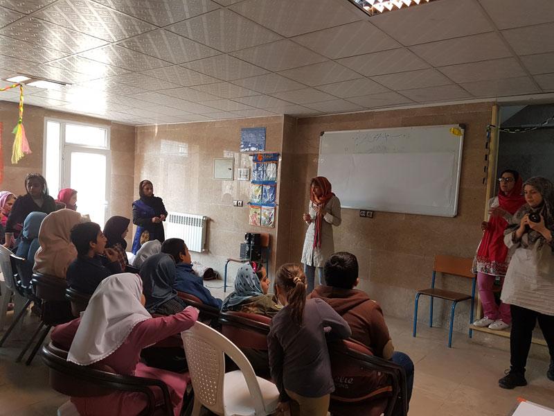 کودکان و نوجوانان محمودآباد شهرری «فراتر از یک رویا» را تجربه کردند