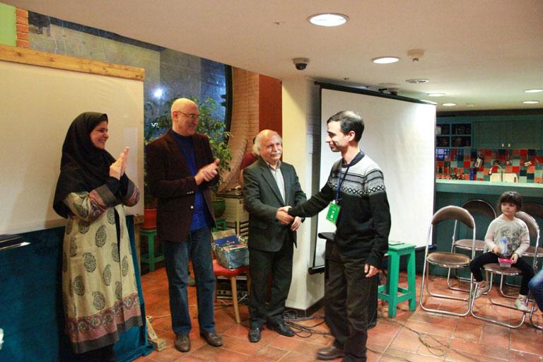 چهارمین دوره اهدای جایزه لاکپشت پرنده برگزار شد