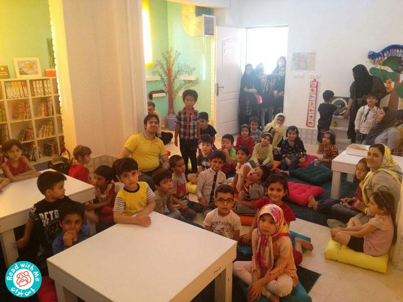 کتابخانه «با من بخوان» خانه دوم کودکان منطقه دروازه غار شد