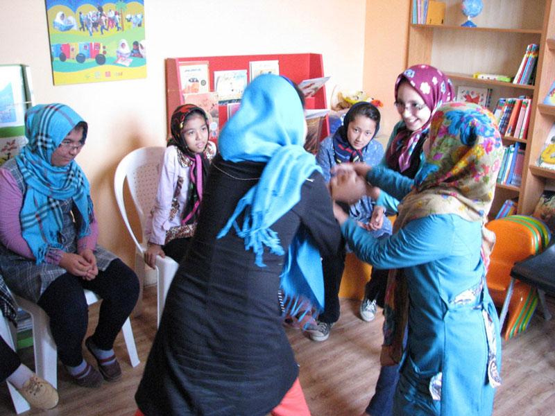 کارگاه آموزش نمایش برای کودکان محمودآباد شهر ری
