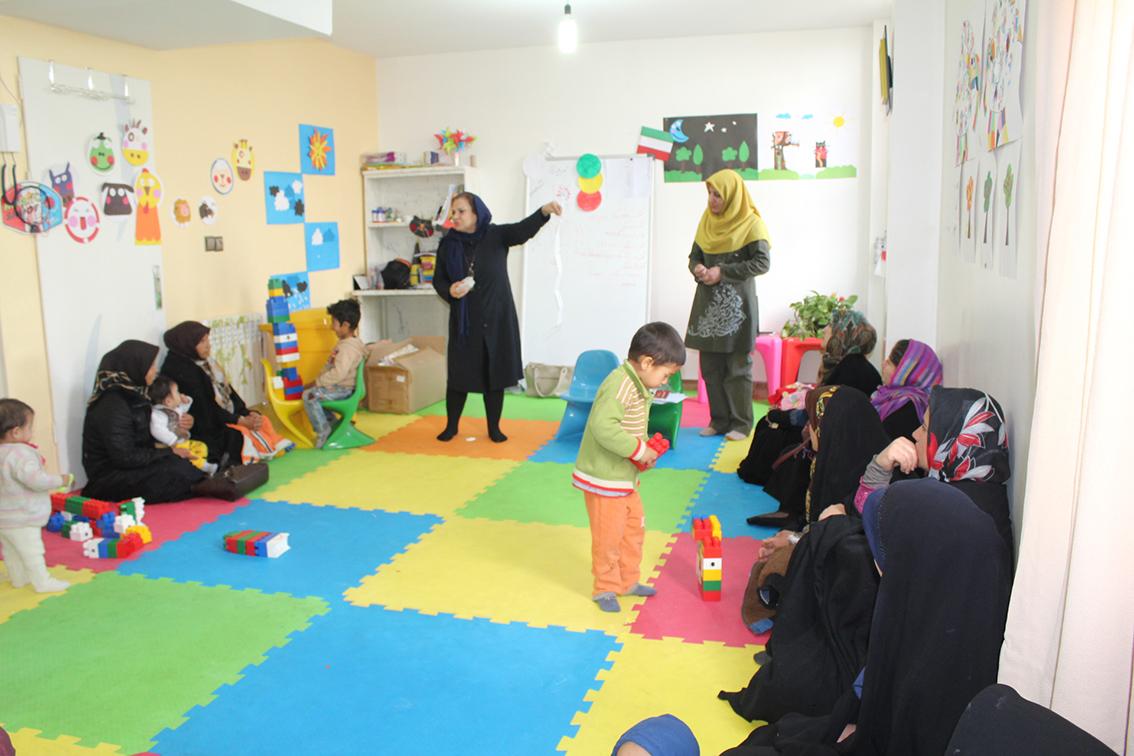 دور جدید کارگاههای خواندن با نوزاد و نوپا در محمودآباد شهرری