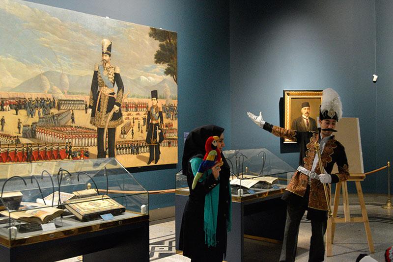 کتابخانه و موزه ملی ملک، مدرسههای ابتدایی را به «باغ قصهها» فرامیخواند