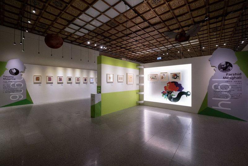 نمایش تصویرگریهای فرشید مثقالی در نمایشگاه آثار برندگان جایزه اندرسن