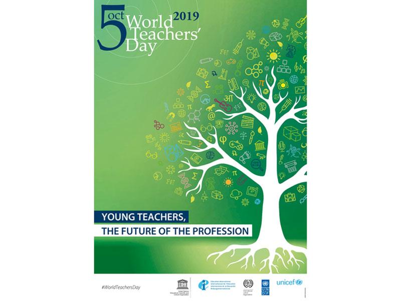۱۳ مهر (۵ اکتبر)، روز جهانی معلم