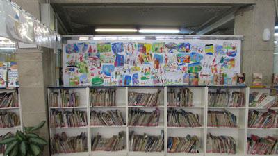 نمایشگاه نقاشی داستان کتاب ها