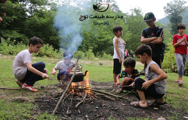 مدارس طبیعت راهکاری برای آشتی با طبیعت و نجات محیط زیست
