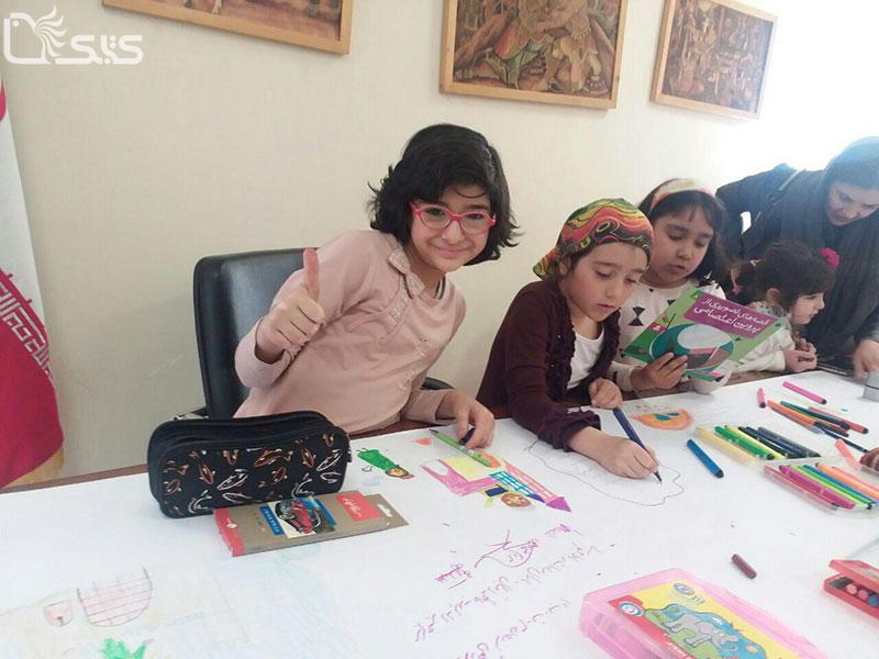 کارگاه آشنایی کودکان با پروین اعتصامی برگزار شد