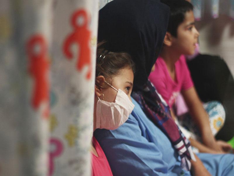ارمغان «با من بخوان» برای کودکان بیمار تبریز