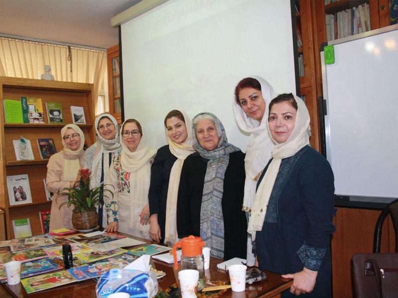 گزارش جلسه گروه بررسی نشریات شورای کتاب کودک