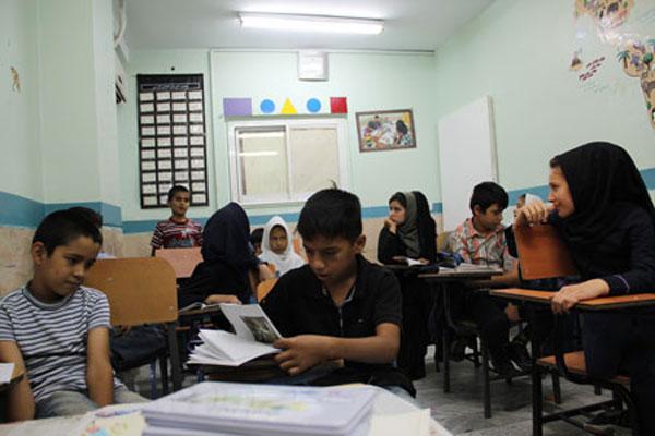 مدرسهای که سرپناه شد