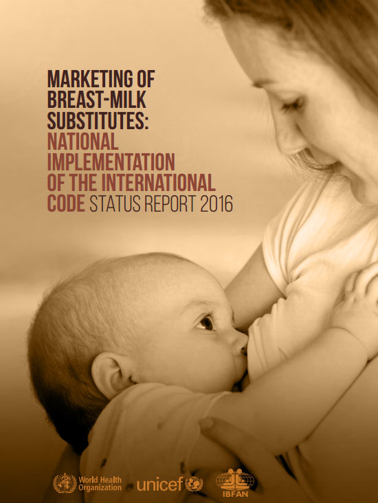 ترویج تغذیه با شیر مادر در بیشتر کشورها به پشتیبانی بیشتری نیاز دارد