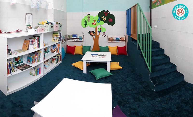 کتابخانه کودکمحور آوای کودکی یزد- مکانی برای گسترش تخیل و یادگیری